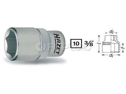 HAZET Socket 10mm (3/8 Drive) - HAZET 880-10