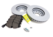 Audi VW Brake Kit - Zimmerman / Textar KIT-528847