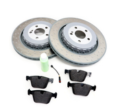 Mercedes Benz Parts Catalog >> Mercedes Brake Kit Rear Oem W221amgrbk1