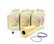 Audi VW Oil Change Kit 5W-40 - Genuine Audi VW 522004