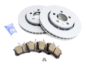 VW Brake Kit - Zimmermann KIT-536232