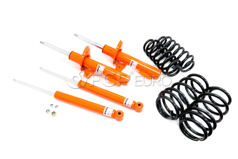 VW Strut and Shock Assembly Kit (Lowering) - KONI STR.T / Eibach Pro 87501005
