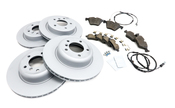 BMW Brake Kit - Zimmermann 34116794427KTFR1