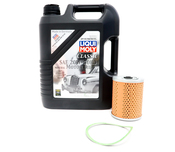 Porsche Engine Oil Change Kit (20W50) - Liqui Moly/Mahle 539010