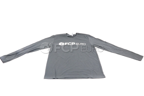 FCP Euro Long Sleeve Shirt (Grey) - Medium