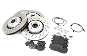 BMW Brake Kit - Genuine BMW 34112284101KTFR