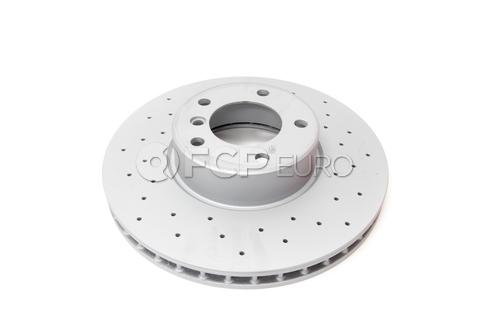 BMW Drilled Brake Disc - Zimmermann Sport 34111165859