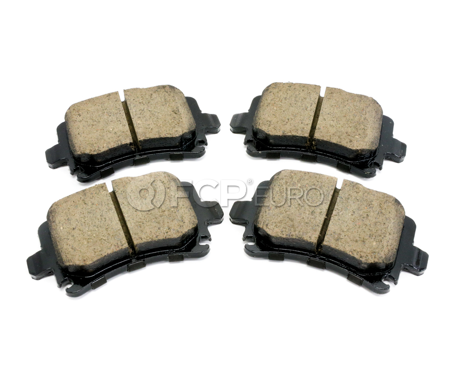 Audi VW Brake Pad Set - Akebono 8E0698451J