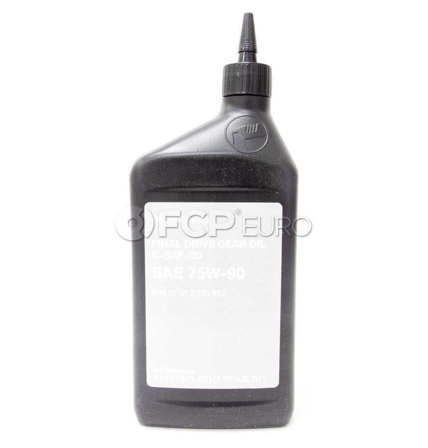 Differential Fluid (1 Liter) - Genuine BMW 07512293972