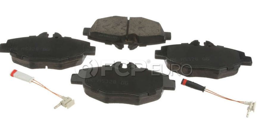 Mercedes Brake Pad Set - Akebono 0044208720