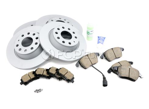 Audi VW Brake Kit - Zimmermann KIT-420979