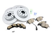 Audi VW Brake Kit - Zimmermann KIT-420979