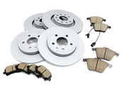 Audi VW Brake Kit - Zimmermann/Akebono B7A4BRAKE3