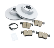BMW Brake Kit - Zimmermann/Akebono 34116792219KTF1