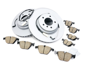BMW Brake Kit - Zimmermann/Akebono 34116855000KTFR4