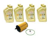 VW Audi Oil Change Kit 5W-30 - Genuine Audi VW KIT-95810722220KT