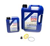 VW Oil Change Kit 5W-40 - Liqui Moly KIT-LM2332KT10