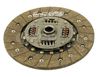 Audi VW Clutch Friction Disc (4000 Quantum Fox Dasher) - Amortex 0261410312