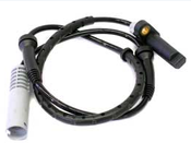 BMW ABS Wheel Speed Sensor Rear - Delphi 34521182160