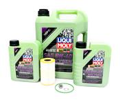 VW Audi Oil Change Kit 5W-40 - Liqui Moly Molygen KIT-06E115562H.7LM