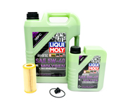 Audi Oil Change Kit 5W-40 - Liqui Moly Molygen KIT-06K115562.2M