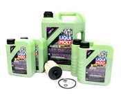 VW Audi Oil Change Kit 5W-40 - Liqui Moly Molygen KIT-079198405D.9LM
