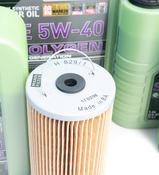 Mercedes Oil Change Kit 5W-40 - Liqui Moly Molygen KIT-515669