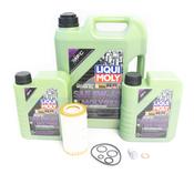 Mercedes Oil Change Kit 5W-40 - Liqui Moly Molygen 0001802609.7L