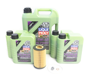 Mercedes Oil Change Kit 5W-40 - Liqui Moly Molygen 0001803009.9L