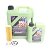 Mercedes Oil Change Kit 5W-40 - Liqui Moly Molygen 2711800509.6L