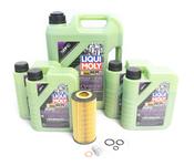 Mercedes Oil Change Kit 5W-40 - Liqui Moly Molygen 2751800009.9L
