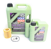 BMW Oil Change Kit 5W-40 - Liqui Moly Molygen 11427854445KT.LM