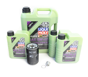 Porsche Oil Change Kit 5W-40 - Liqui Moly Molygen KIT-524665M