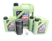 Porsche Oil Change Kit 5W-40 - Liqui Moly Molygen KIT-525121M
