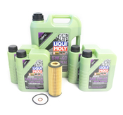 Mercedes Oil Change Kit 5W-40 - Liqui Moly Molygen 2781800009.9L.W253