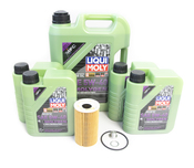 Porsche Oil Change Kit 5W-40 - Liqui Moly Molygen KIT-538469M