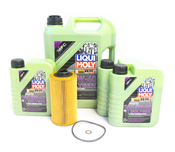 BMW Oil Change Kit 5W-40 - Liqui Moly Molygen 11427510717KT1.LM