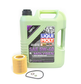 BMW 5W-40 Oil Change Kit - Liqui Moly Molygen 11428683196KT2.LM.AWD