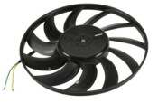 Audi Cooling Fan Assembly - Nissens 8E0121207D
