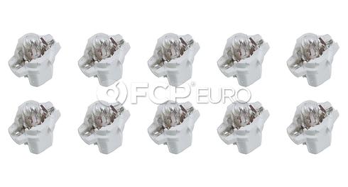 VW Audi Instrument Panel Light Bulb  10 PACK - Jahn 431919040A