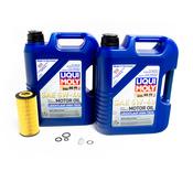 Mercedes Oil Change Kit 5W-40 - Liqui Moly 2751800009.10L