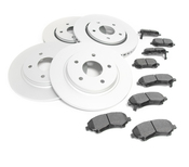 VW Brake Kit - Bosch/Akebono 539294