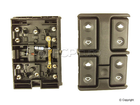 BMW Window Switch Panel - Genuine BMW 61311379075