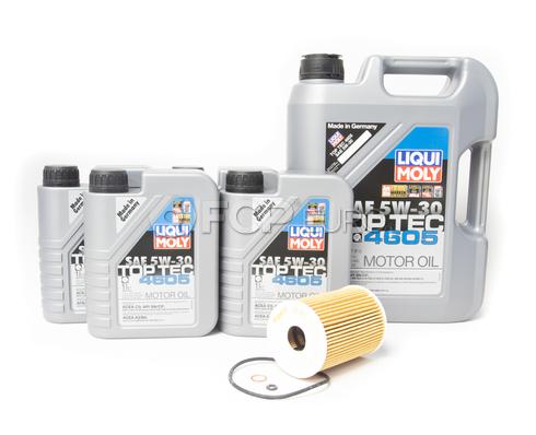 Mercedes Diesel Oil Change Kit 5W-30 - Liqui Moly 6421800009
