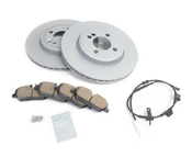Mini Brake Kit - Zimmermann/Akebono  34116858651KTF1