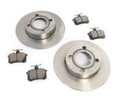 Audi VW Brake Kit - Zimmermann/Akebono 443615601AKT