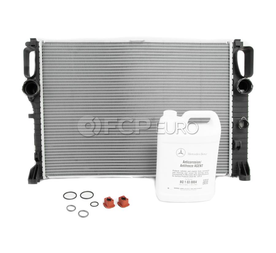 Mercedes Radiator Replacement Kit - Nissens 2115003202