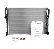Mercedes Radiator Replacement Kit - Nissens 2115003202