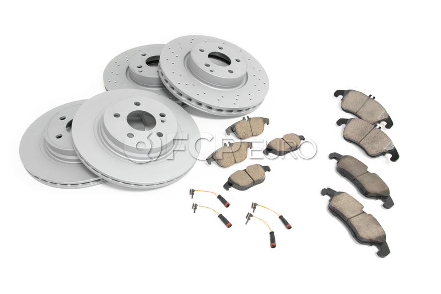 Mercedes Brake Kit - Akebono 0074205820