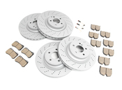 Mercedes Brake Kit - Akebono 2115400717